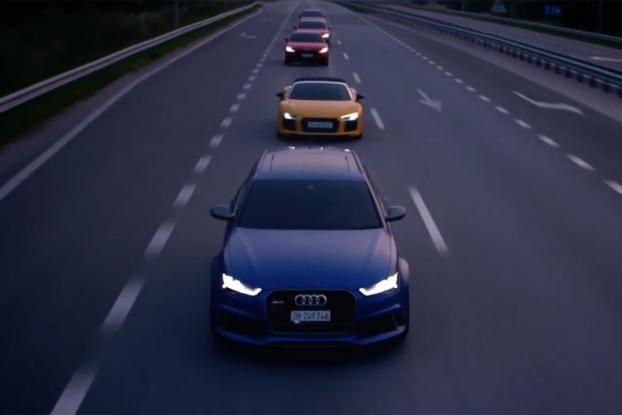 A Haunting Cover Of Homeward Bound Pays Tribute To Audis Le Mans - Audi home