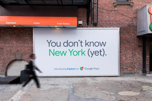 Google Maps Targets New Yorkers With Real Time Data In Outdoor Push