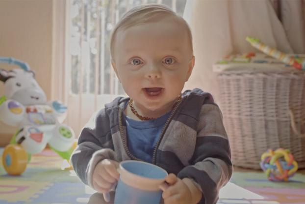 huggies puts a tracking device on diapers for a baby marathon adage