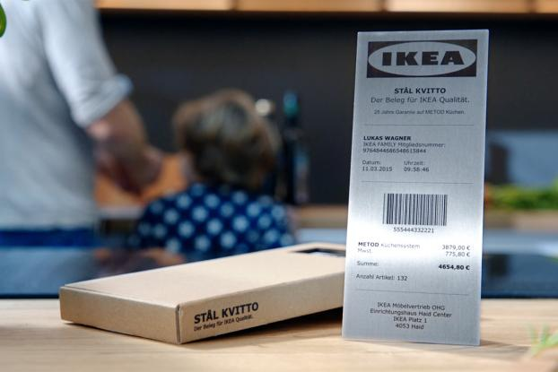 ikeas virtually indestructible receipt attempts to tackle misconception about its product adage