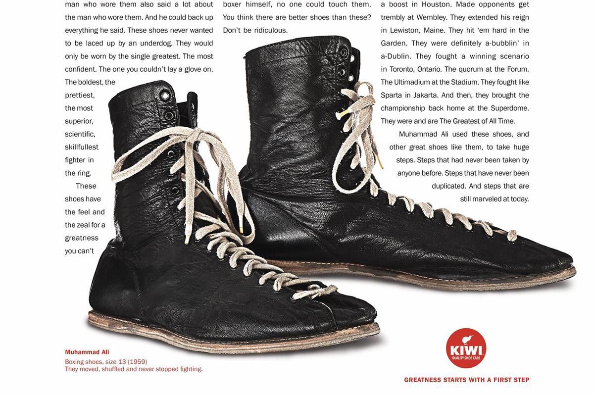 Kiwi Shoe Polish: Ali