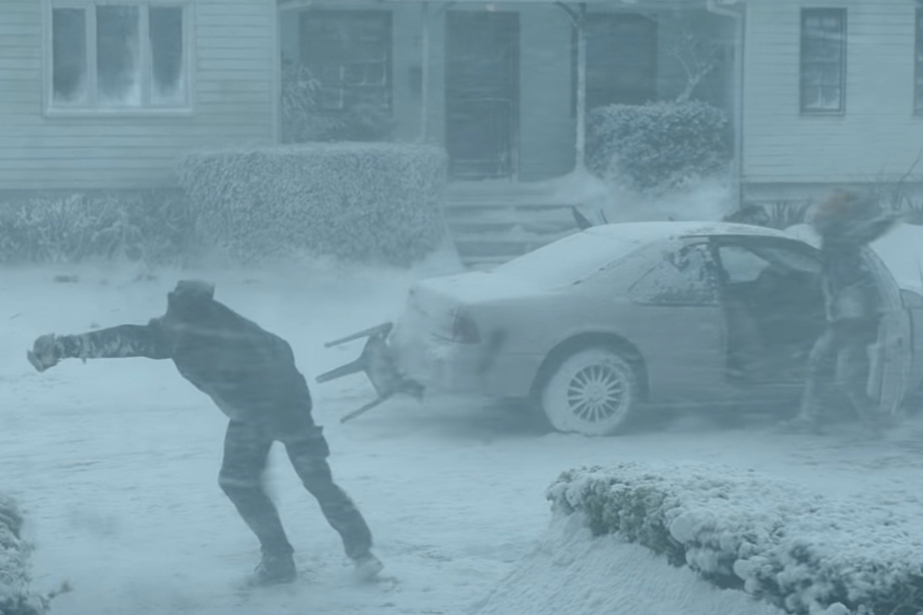 A blizzard is bliss for a gamer in Playstation's Black Friday spot