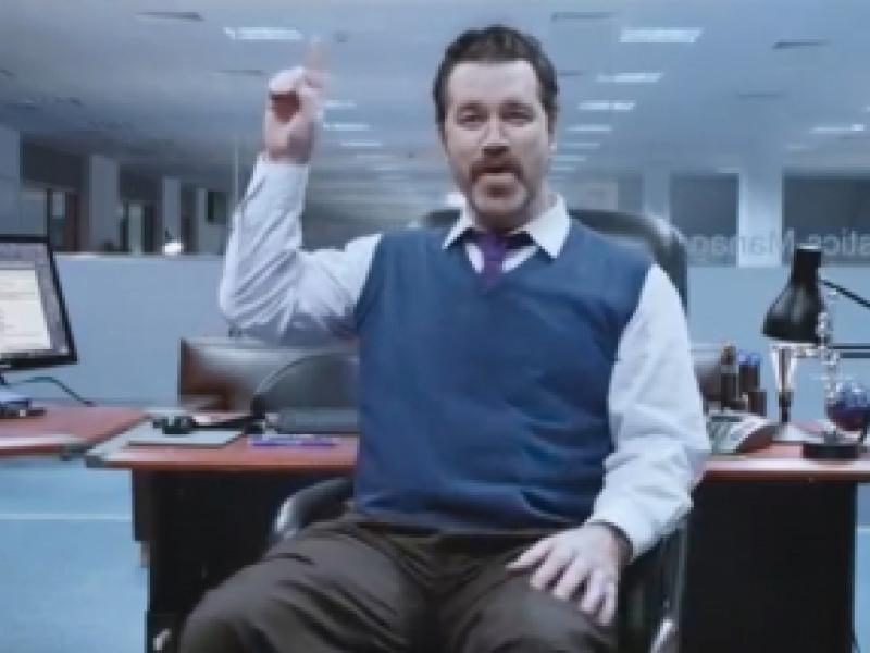 Bored Office Guy Has A Private Boogie In Cadburys Latest Feelgood
