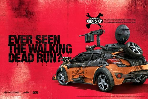 Hyundai Teams Up With Walking Dead Creator For New Chop Shop App