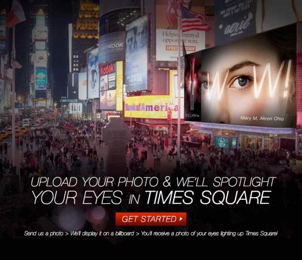 Olay Puts Fans Eye Makeup On Times Square Billboard Adage